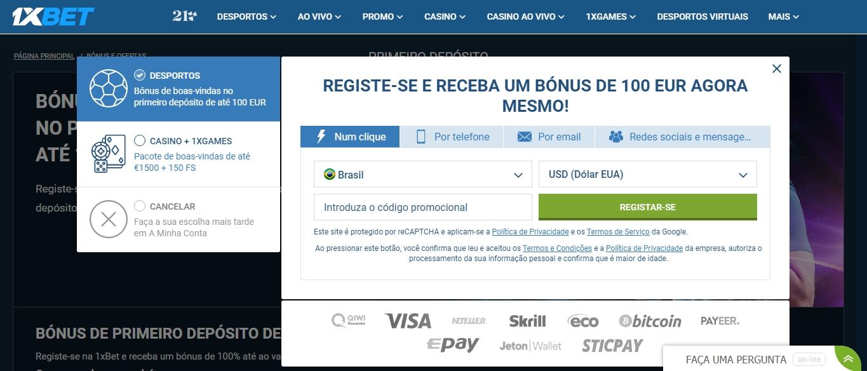 Como entrar na 1xBet em Portugal usando VPN.